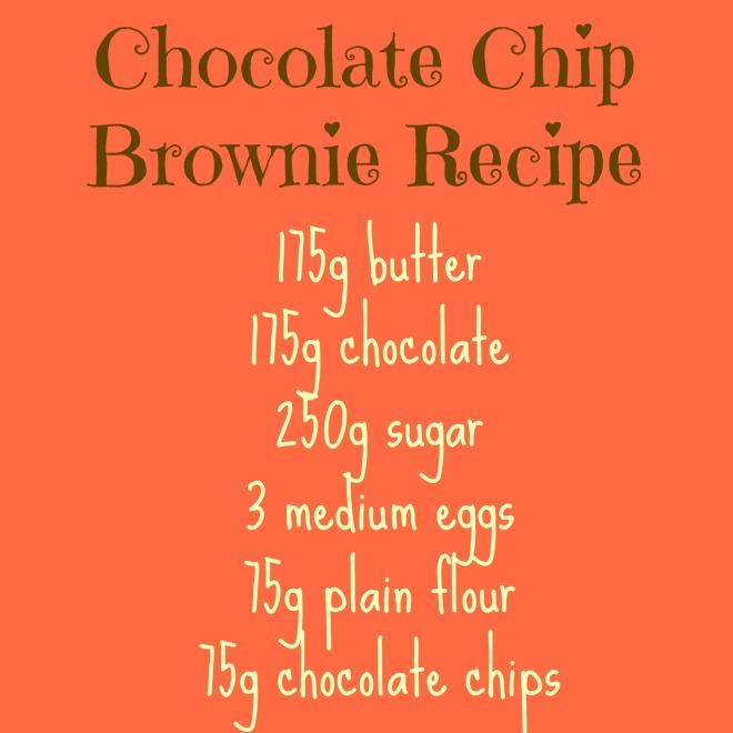 brownie recipe