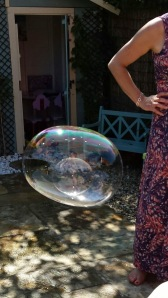 a bubble in a bubble!