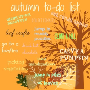autumn list