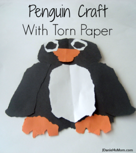 penguin_craft-_with-_torn_paper_title