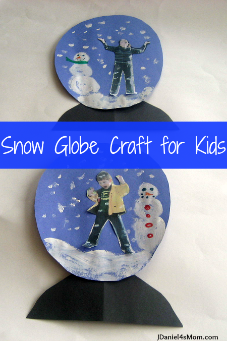 15 fab winter crafts 101 things to do with kids for Snow globe craft for kids